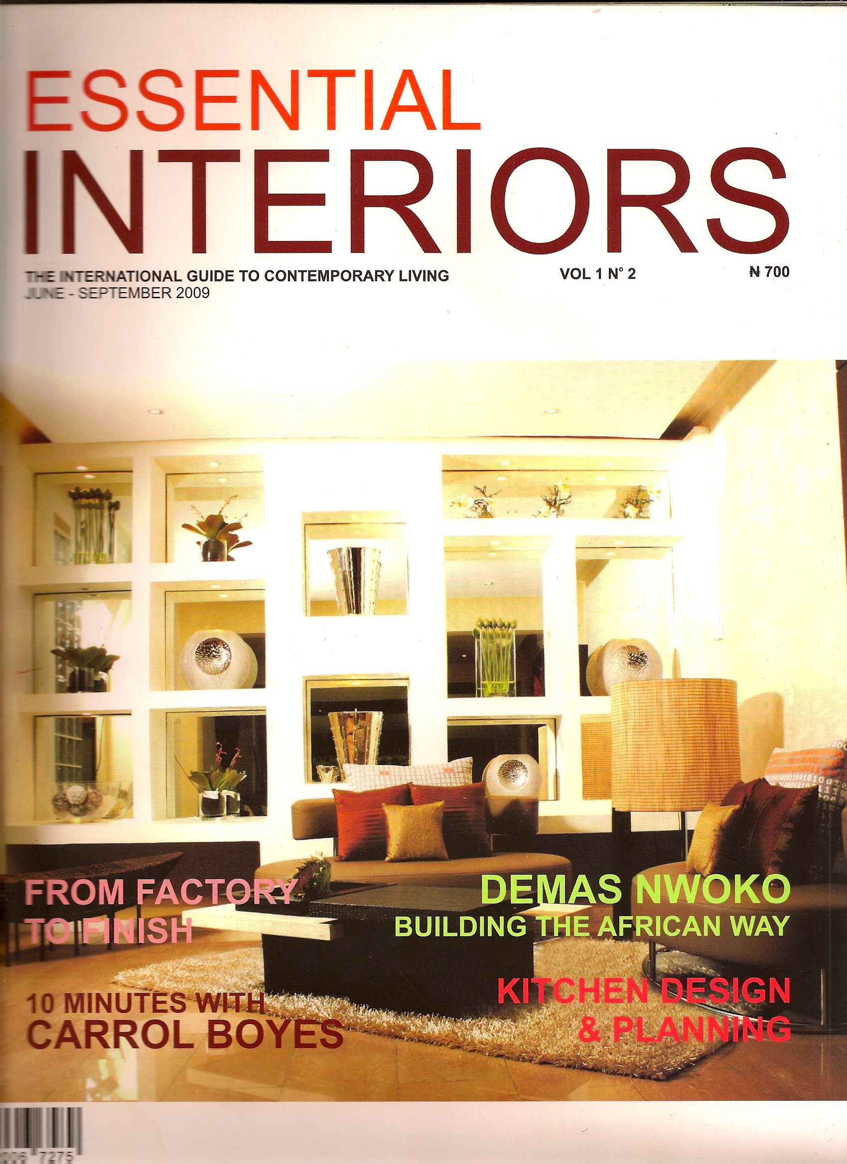 Essential Interiors Magazine Is Nigerias